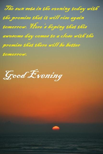 Good Evening Pic