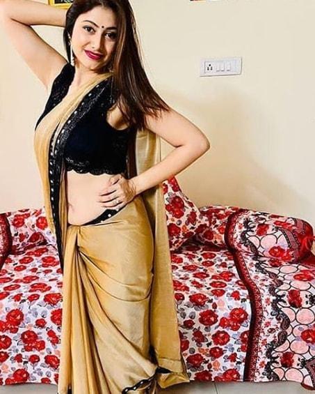 anushka shetty in saree