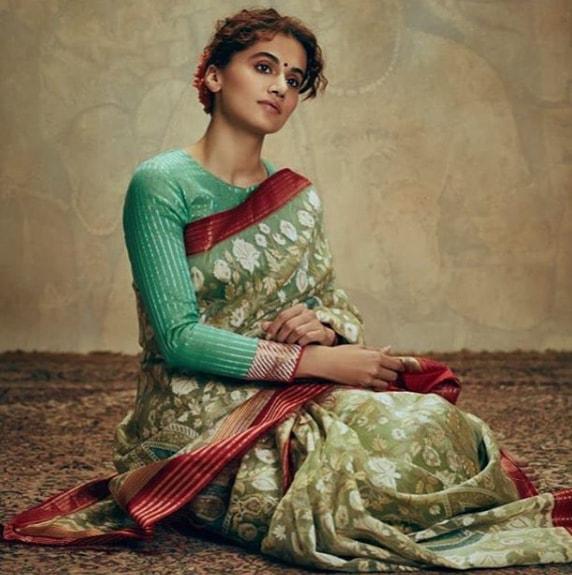 anushka sharma in saree