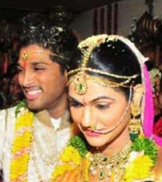 allu arjun marriage photo