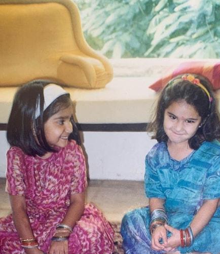 Sara Ali Khan childhood photos
