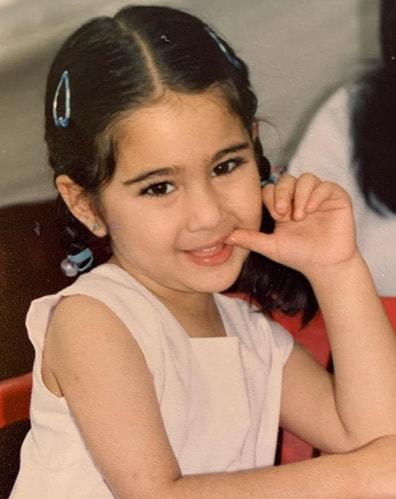 Sara Ali Khan childhood images