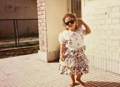 yami gautam childhood image