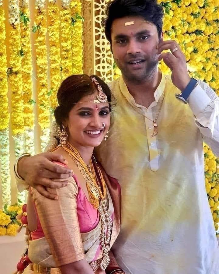 Shalini Vednikatti married
